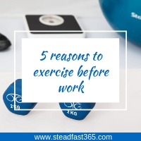 5 reasons why Working moms need to exercise before work