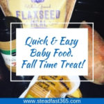 Fall treat for baby
