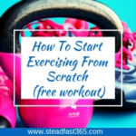 Female personal trainer gives tips for beginners. Free sample included
