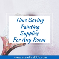 Time saving painting supplies for working moms to paint any room