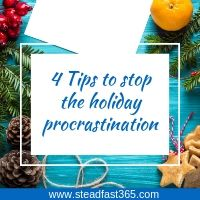 5 simple tips on how to beat procrastinating your holiday to do list as a working mom